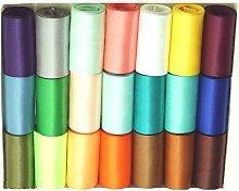 GCS Satinband, 50 mm breit, 2,5 m, viele Farben