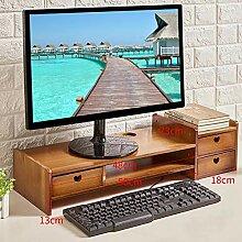 GCX&LV Hölzerne Monitorstände Riser,Laptop
