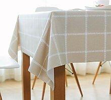 Gcxzb Wachstuch-Tischdecke Abwaschbar