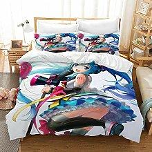 GD-SJK Bettwaren-Sets Für Kinder Cartoon Anime