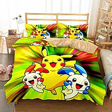 GD-SJK Bettwaren-Sets für Kinder,Pikachu