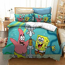 GD-SJK Spongebob Bettwaren-Sets Für