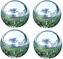 GDglobal Edelstahlkugeln Poliert Silber