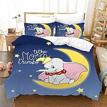 GDGM Bettwaren-Sets für Kinder Dumbo,Bettbezug