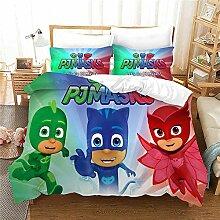 GDGM Bettwaren-Sets Für Kinder PJ Masks