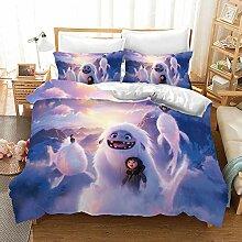 GDGM Bettwaren-Sets für Kinder The Abominable,3D