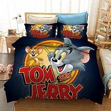 GDGM Bettwaren-Sets Für Kinder Tom and