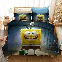 GDGM Spongebob Bettwaren-Sets Für