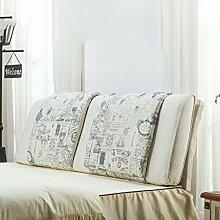 GDHSALE Bett Rückenlehne Kissen Bett Kissen