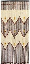 GDMING 60 Stränge Holz Perlenvorhang Türvorhang