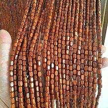 GDMING Holz Perlen Vorhang Türvorhang Zum