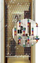 GDMING Kristall Perlenvorhang Türvorhang
