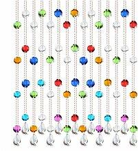 GDMING Kristall Trimmen Perlenvorhang Türvorhang