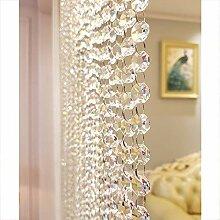 GDMING- Perlenvorhang Türvorhang Kristall
