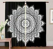 GDONLINE Ombre Mandala Baumwolle Fenster Tür