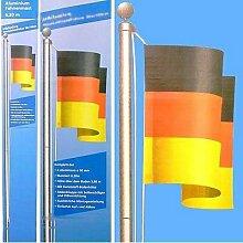 Gear Up Fahnenmast aus Aluminium Farbe Deutschland