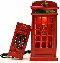 Gearmax® Vintage London Telefonzelle LED Lampe