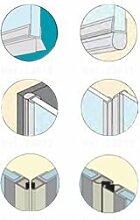 Geb–Spatel, Dusche–Dichtungen (X2) Seiten Tür Dusche Magnetschnapper–Glas 5bis 8mm–2.00ml