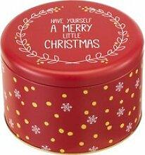 Gebäckdose rund XL 18 cm Little Christmas