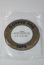 gebeizt Glas Werkzeuge und Supplies–Silber, die Kupfer Tape 3/16