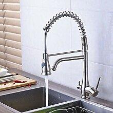 Gebürstetes Nickel Reinigung Küchenarmatur