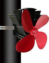 Gebundener Kaminventilator Lüfter mit 4 Blättern