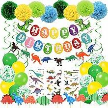 Geburtstag Deko Junge Dinosaurier HAPPY BIRTHDAY