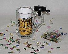 Geburtstag dreißig 30. Bierkrug Bierseidel Humpen