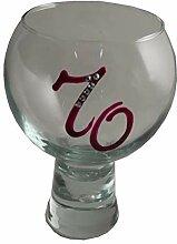 Geburtstag Gin And Tonic Glas mit Kristallen