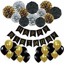 Geburtstag Party Dekoration, Recosis Happy