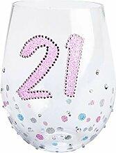 Geburtstag Sparkle Weinglas Weingläser ohne Stiel