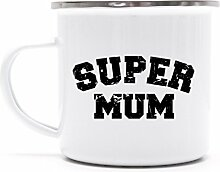 Geburtstags,- Muttertagsgeschenk Metalltasse