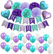 GeburtstagsdekoMädchen Junge Happy Birthday