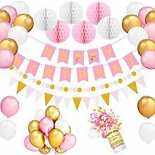 Geburtstagsdeko Set für Mädchen Frauen