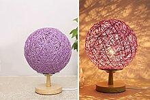geburtstagsgeschenk lampe, kreative lampe,lila -