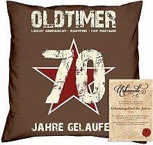 Geburtstagsgeschenk Männer Frauen : Oldtimer 70 :
