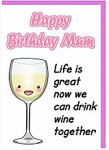 Geburtstagskarte für Mama-HUMOR Funny