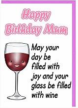 Geburtstagskarte für Mama–HUMOR Funny
