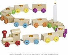 Geburtstagszug -Wagons und Geburtstagskerzen 2er Se