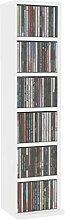 Gecheer Schrank Regal Schrank DVD Rack mit 6