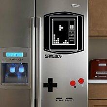 geckoo Kühlschrank Vinyl Falling Blocks Aufkleber Boy Retro (Game Boy) Tetris Art Wand Vintage Spiel mit Spaß Wand Aufkleber (Large, Custom) by mairgwall