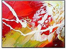 GEDASHU malerei Abstraktes Buntes Ölgemälde