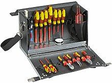 GEDORE 1091 Elektro-Werkzeugkoffer 18-TLG