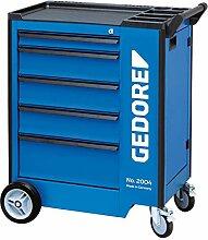 GEDORE 2004 0131 Werkzeugwagen mit 5 Schubladen, 5