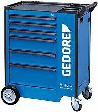 GEDORE 2004 0321 Werkzeugwagen mit 6 Schubladen