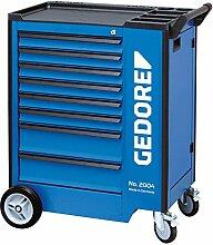 GEDORE 2004 0620 Werkzeugwagen mit 8 Schubladen, 8