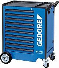 GEDORE 2004 1000 Werkzeugwagen mit 10 Schubladen