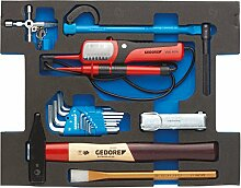 GEDORE Sortiment Sanitär in 2/2 L-BOXX 136 Modul, 23- Teilig, 1100 CT2-03-600 D