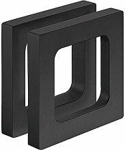 Gedotec Design Möbelgriff Alu schwarz