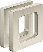Gedotec Design Möbelgriff Edelstahl Glastürgriff
